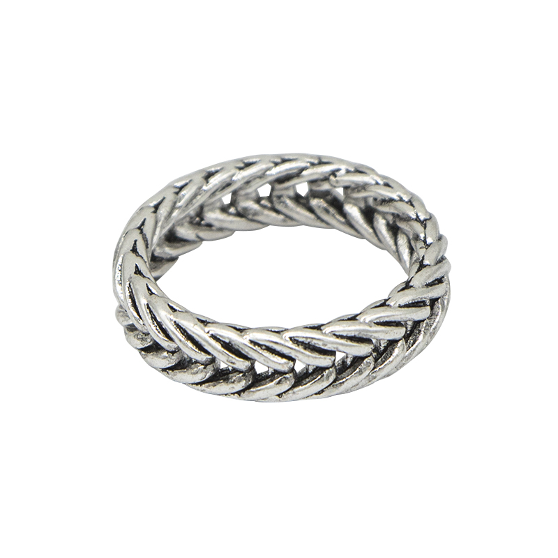 ring-braid-zilver