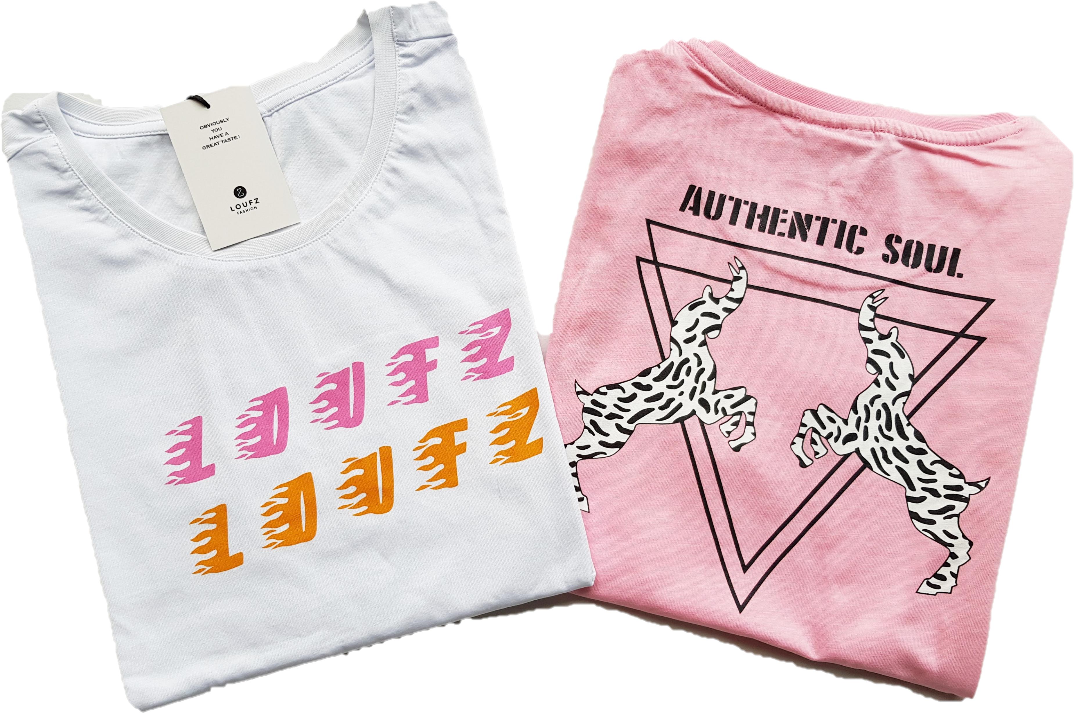 Combi voordeel - wit/roze