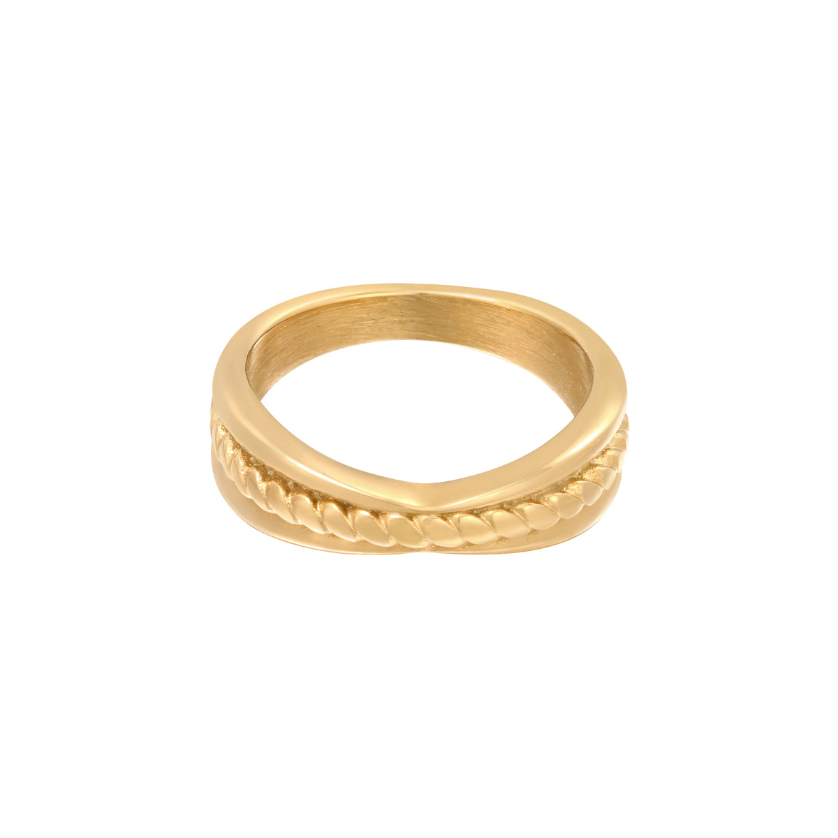 Gouden Ring Doubled