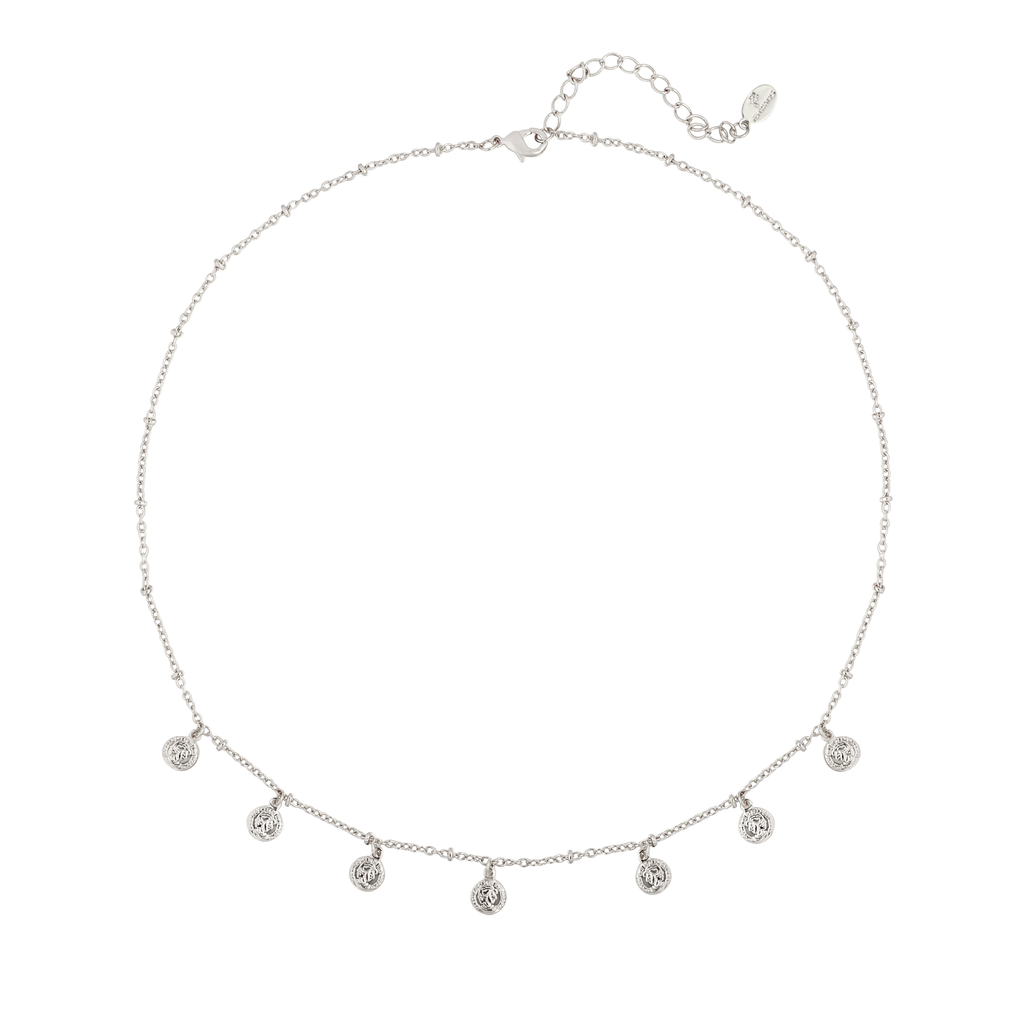 Ketting Cute Coin Zilver