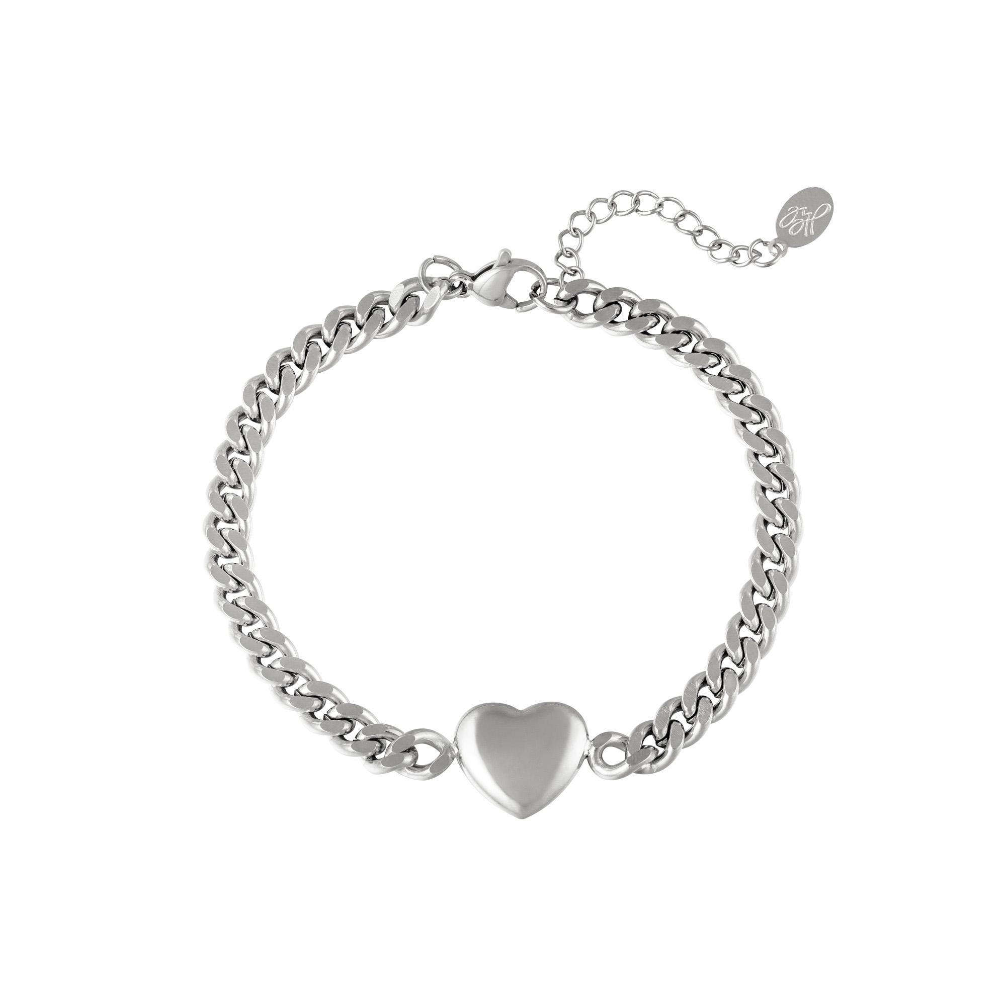 Armband Chained Heart